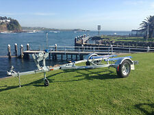 """PWC13 Skid, 13"""" Rims, suits Boat/Tinny/Inflatable up to 3.9m, fully galvanised"""