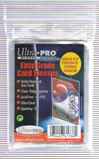 Ultra Pro Easy Grade Card Sleeves Angle Cut prevents Corner Damage 2 Pack