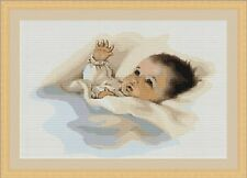 Baby Infant Child Cross Stitch Kit 26 x 18cm Luca S G385