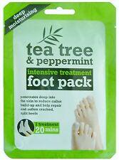 1 Tea Tree & Peppermint Intensive Treatment Deep Moisturising Foot Pack