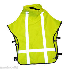 Fits CLEMCO APOLLO 60 Blast Helmet: NEW HI VIS SAFETY CAPE,sand blasting, Blast