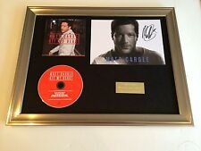 SIGNED/AUTOGRAPHED MATT CARDLE - HIT MY HEART FRAMED PHOTO & CD PRESENTATION