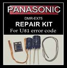 U81 error code repair kit DMR-EX75 Panasonic dvd recorder fault inc MD5001t