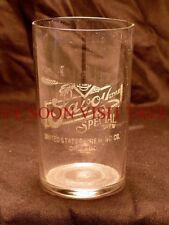 1900s Savoy United States Brewery etched glass Tavern Trove Chicago Illinois