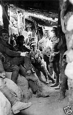 Australian troops in Captured Turkish Trench at Lone Pine 1915 World War 1 6x4