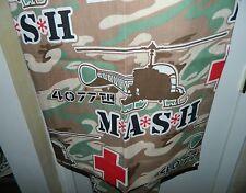 Vintage MASH 4077th Pinch Pleat Drape Curtain Hawkeye 20th Century Fox
