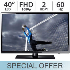 "SAMSUNG 40"" Inch 1080p LED LCD FULL HD TV 60Hz w/ 2 HDMI UN40H5003 - NEW"