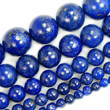 Wholesale Natural Lapis Lazuli Gemstone Round Beads 15.5'' 4mm Auction