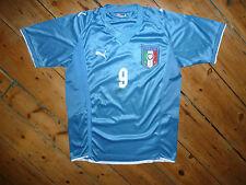 TONI #9 + ITALY AWAY SHIRT XL  PUMA 2010 JERSEY  CAMISETA MAILLOT MAGLlA TRIKOT
