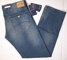 Armani Jeans medium wash J15 regular fit men jeans size 32x34 regular fit NEW