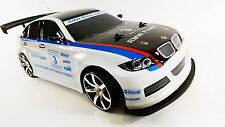 1-10 Remote Control RC 4WD DRIFT REPLICA Rally BMW M3 DTM sfregamenti RACE R / C auto