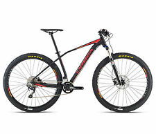 "bicicleta MTB 29"" ORBEA ALMA H50 etiquetas. RED/Orange/Orbea BIKE H50 RED/ORANG"