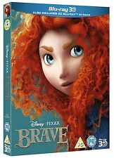 BRAVE 3D Blu-Ray 3D + 2D Disney Pixar with special slipcover BRAND NEW Free Ship