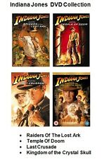 INDIANA JONES COLLECTION DVD SET All 1 2 3 4 Movie Film Box Brand New Sealed UK
