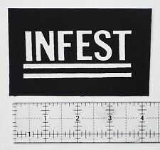 Infest Patch Grindcore Metal Misery Disrupt Despise You Phobia Unholy Grave Punk