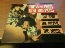 LP THE WEE PAPA GIRL RAPPERS THE BEAT THE RHYME THE NOISE JIVE ZL71918 EX/EX BXX