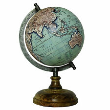 ROTATING GLOBE TABLE DECOR OCEAN GEOGRAPHICAL EARTH DESKTOP GLOBE HOME DECOR