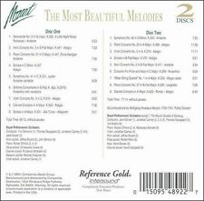 Mozart:Most Beautiful Melodies-David Campbell [Clarinet], Jonathan Ca MINT 2CD