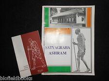 SATYAGRAHA ASHRAM: India/Indian Mahatma Ghandi Founded Ashram Monument Booklet