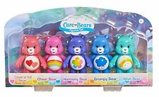 "Care Bears 3 ""articulé 5 figurine Pack-love-a-lot Cheer harmonie grincheux souhait"