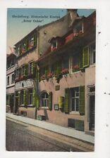 Heidelberg Kneipe Roter Ochse Germany Vintage Postcard 994a