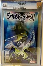 SPIDER-GWEN # 1 CGC 9.8! CONQUEST COMICS COLOR VARIANT. HOT NEW SERIES!