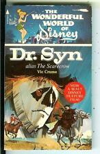 DR SYN ALIAS THE SCARECROW, Pyramid Disney horror movie tie-in pulp vintage pb