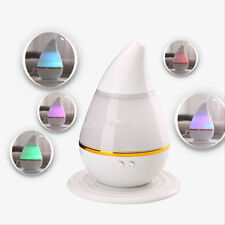 7Color LED Ultrasonic Aroma Humidifier Air Aromatherapy Essential Oil Diffuser K