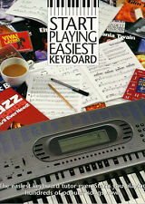 Start Playing Easiest Keyboard Learn to Play Easy Beginner Lesson Music Book