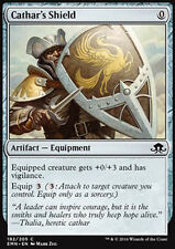 MTG 4x CATHAR's SHIELD - SCUDO DEL CATARO - EMN - MAGIC
