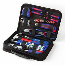WORKPRO 100PC Mechanic Tool Set Sockets Screwdriver Pliers Bag Home Repair Kit