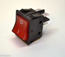16A/8A 125/250VAC SPDT Illuminated Snap in Rocker Power Switch 25T85/55 1E4