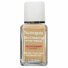 Neutrogena SkinClearing Oil-Free Makeup, Tan 120 1 fl oz