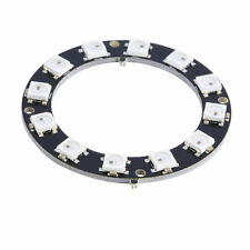 1pc 5050 12-Bit RGB LED Ring WS2812 Round Decoration Bulb Perfect For Arduino YS