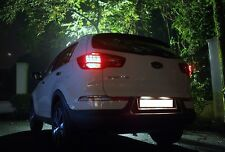 COPPIA LUCI TARGA LED KIA SPORTAGE 2010 - 2014 NO ERROR 36 MM CANBUS