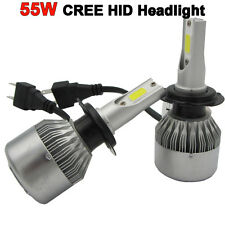 New 55W  H1 H7 H8/H9/H11 9005 CREE LED HID XENON Headlight Kit lampada Car Bulb