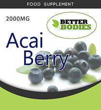 Acai Berry 2000mg STRONG WEIGHTLOSS SLIMMING,DIET PILLS EXTREME STRENGTH
