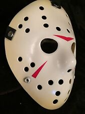 Friday The 13Th Part 3 Jason Hockey Mask LifeSize Prop Replica Halloween Display