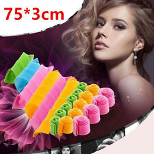 Large Magic Hair Curlers Tool Curl Shaping Spiral Ringlet Leverag rollers 75CM