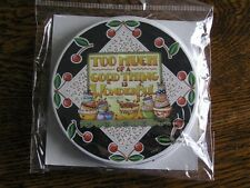 """Set of 6 Mary Engelbreit Paper Coasters """"Too Much of a Good Thing is Wonderful!"""""""