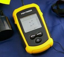 Portable Sonar LCD Fish depth Finder