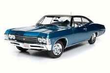 1967 Chevy Impala SS 427, Blue - Auto World AMM1083 - 1/18 Scale Diecast