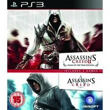 Assassins Creed 1&2 PS3