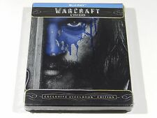Warcraft Blu-ray Steelbook [Italy] NEW SEALED REGION FREE ENGLISH AUDIO!!!
