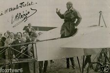 LOUIS BLERIOT Signed Photograph - French Aviation Pioneer (1st to fly Channel)