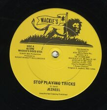 "Jezreel ‎– Stop Playing Tricks / Cheating Girl ORIG USA 12"" NEAR MINT WACKIES"