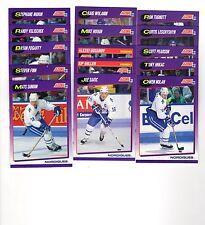 1X QUEBEC NORDIQUES 1991-92 Score COMPLETE TEAM SET Bulk Lot Available Sakic !