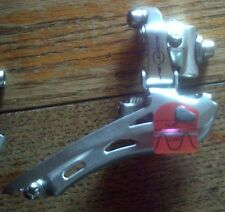 CAMPAGNOLO 10 SPEED VELOCE SILVER  FRONT DERAILLEUR, BRAZE ON FIT