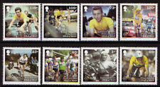 ISLE OF MAN 2013 TOUR DE FRANCE CYCLING SET OF 8 UM, MNH, POLICE
