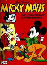 MICKY MAUS DAS GROSSE MALBUCH ZUR FERNSEHSERIE INTER VERLAG KÖLN